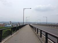 岡崎大橋からの眺め
