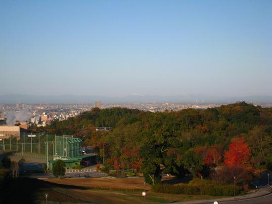 中央総合公園からの眺望