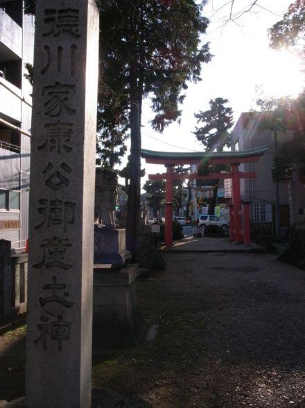 六所神社参道