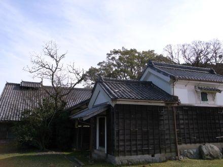 本宿陣屋跡と代官屋敷(現冨田病院)
