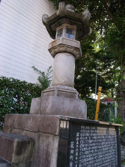 籠田総門角常夜燈