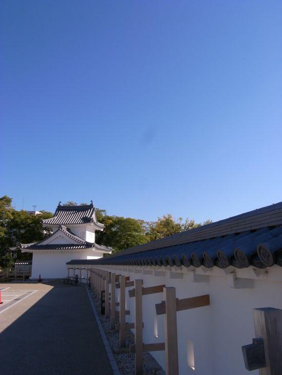 岡崎城の東隅櫓