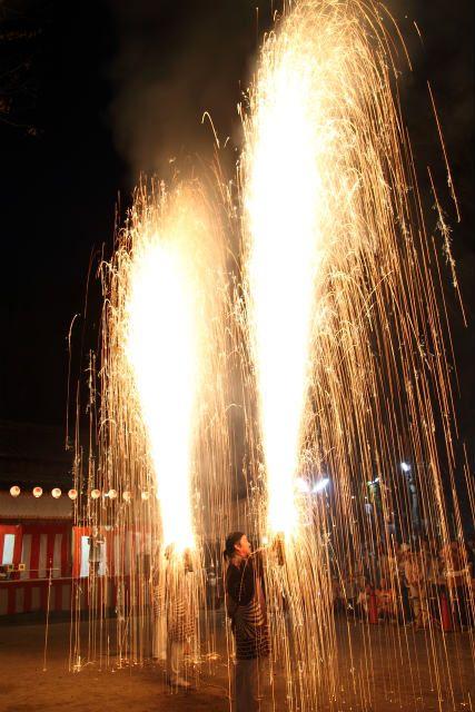 土呂八幡宮の秋祭り