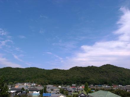 東海道藤川宿山並み