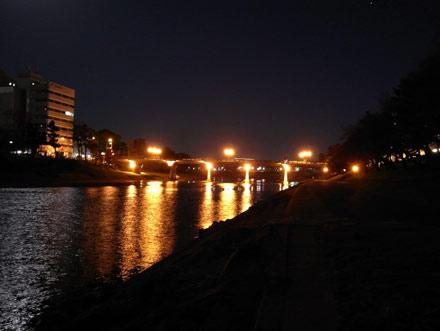 岡崎の夜景
