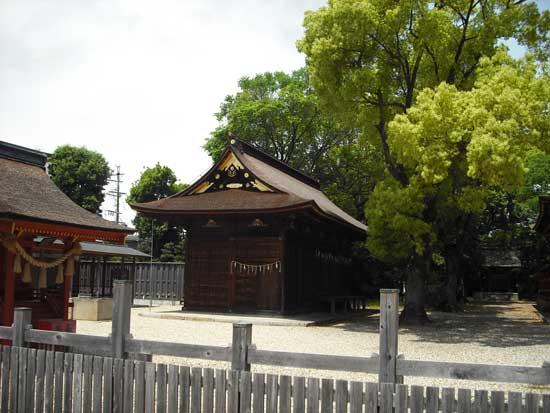 伊賀八幡(御供所)