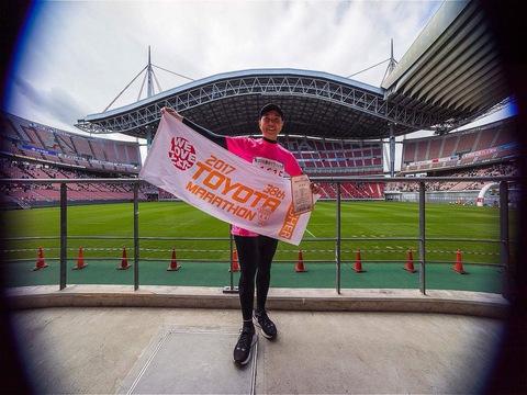 豊田マラソン大会2017