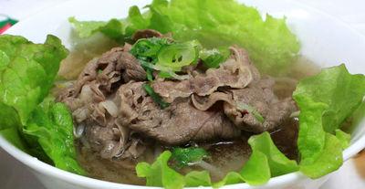 米の麺料理 フォ