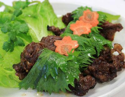 本場ベトナム料理・肉、野菜物