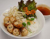ベトナム風つけ麺ブンネム 1040円