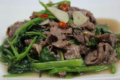 夏のおすすめベトナム料理空芯菜
