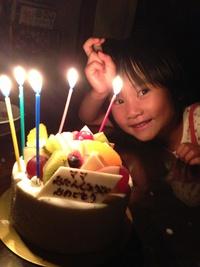 お誕生日ケーキご利用できます。