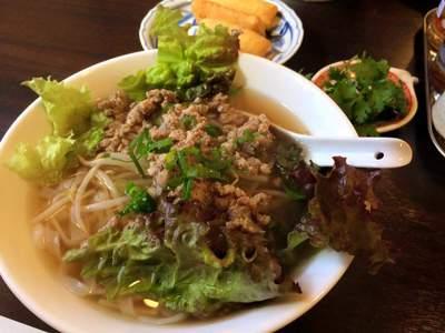 岡崎市ベトナム料理フォーコムフォーの本日のフォー。