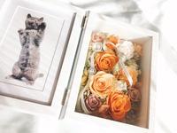 奥様への素敵な贈り物~プリザフォトフレーム