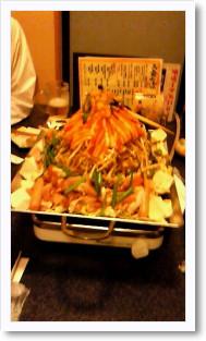 韓国鉄板鍋