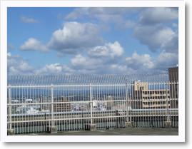 松坂屋の屋上
