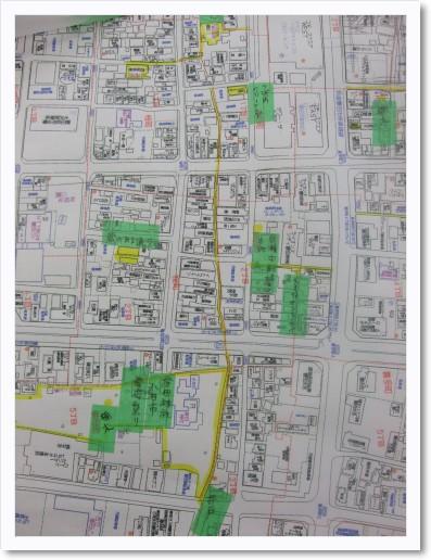 神明町から桜町から挙母町辺り