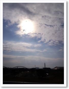 師走の太陽