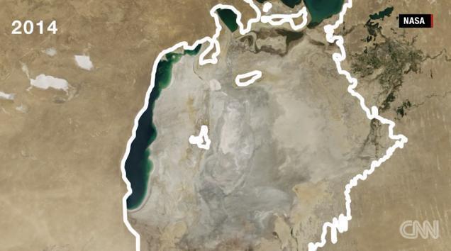 世界で4番目の湖が!?