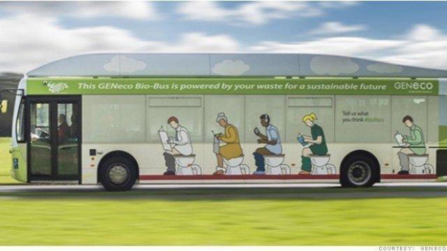 イギリスのエコなバス~燃料は何から作る?