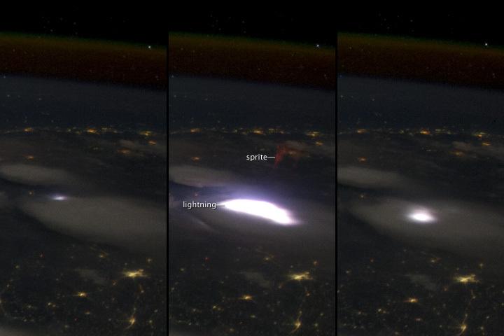 宇宙へ赤い稲妻~スプライトって、どんな現象?