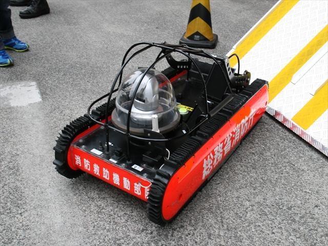 アメリカの救助ロボット~お手本にした生き物は?