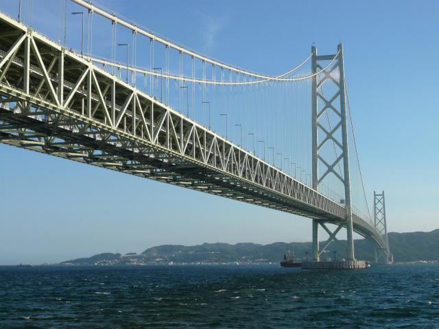 つり橋世界一は明石海峡大橋~長さ世界一はどこの橋?
