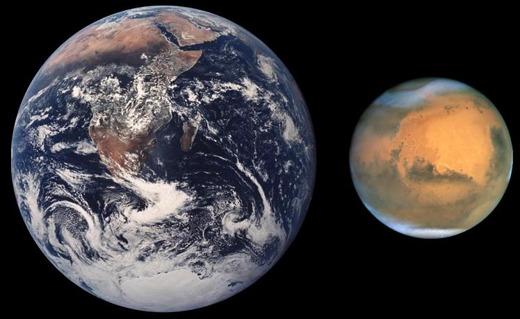 あの惑星が大接近~ところで火星って、どんな星?(再掲)