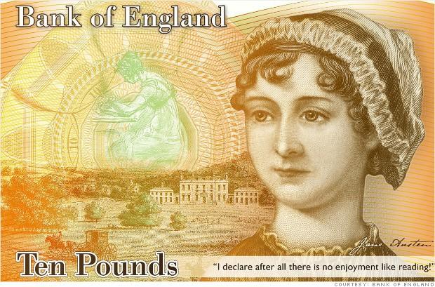 イギリスの新紙幣!?