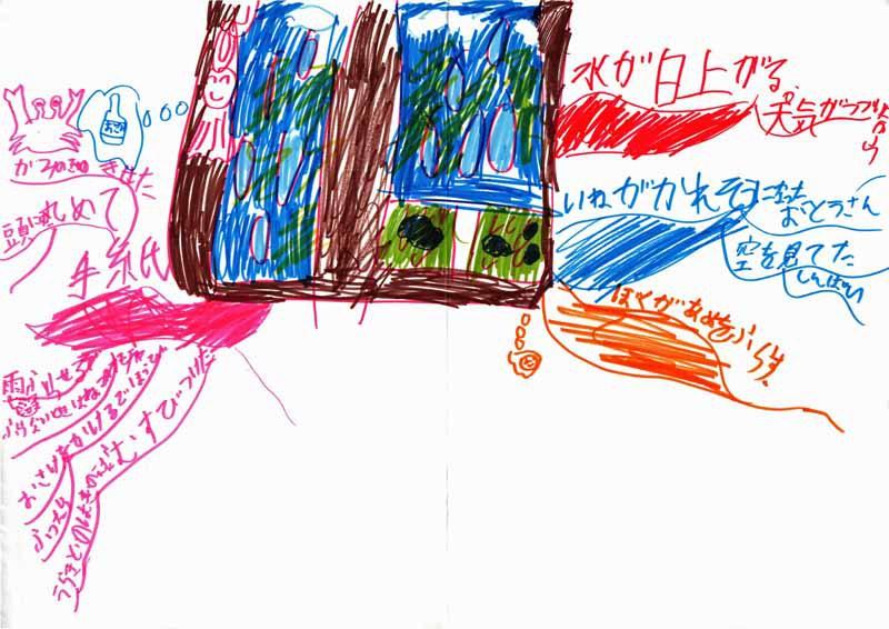 雨降り坊主(小学2年生)