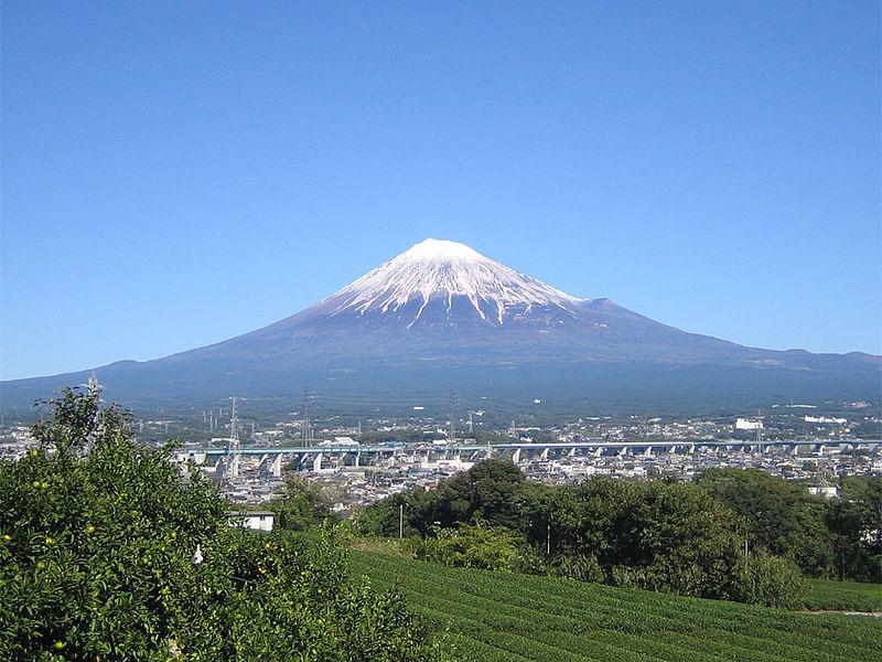 富士山の真下にあるの!