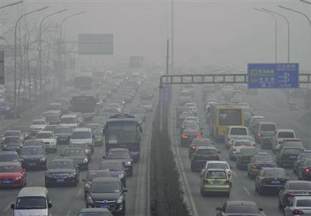 中国で大気汚染!?(再掲)