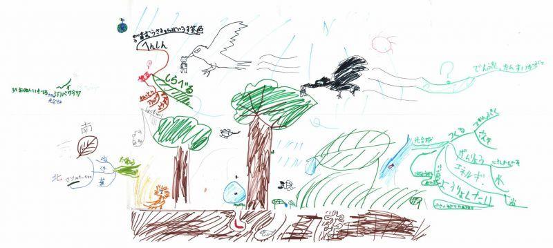 みんなのマインドマップ~植物のはたらき(小学2年生)