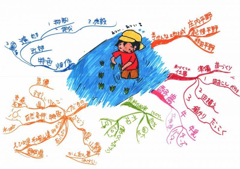 みんなのマインドマップ~日本の農業