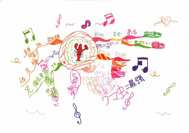 みんなのマインドマップ~節足動物(小学5・6年生)