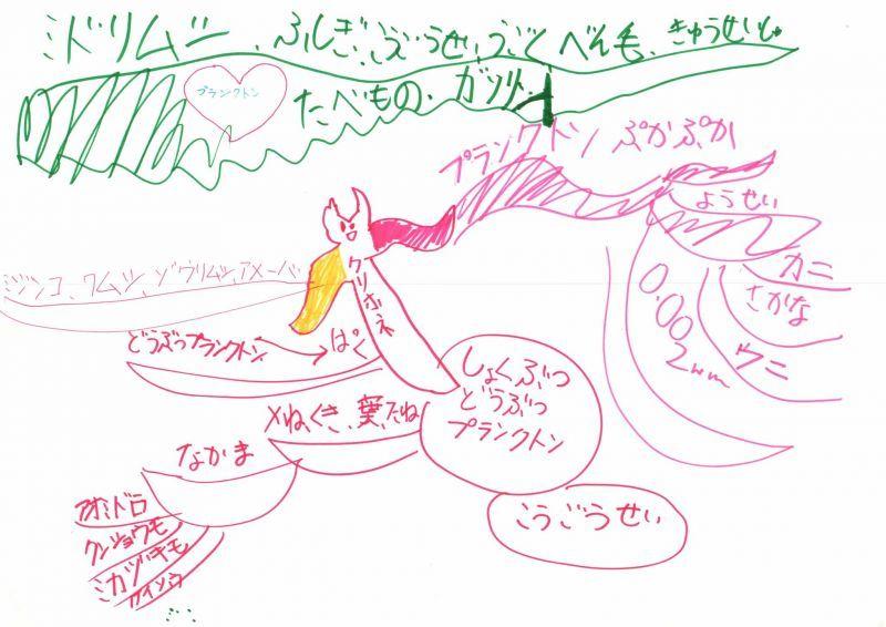 みんなのマインドマップ~プランクトン(小学3年生)