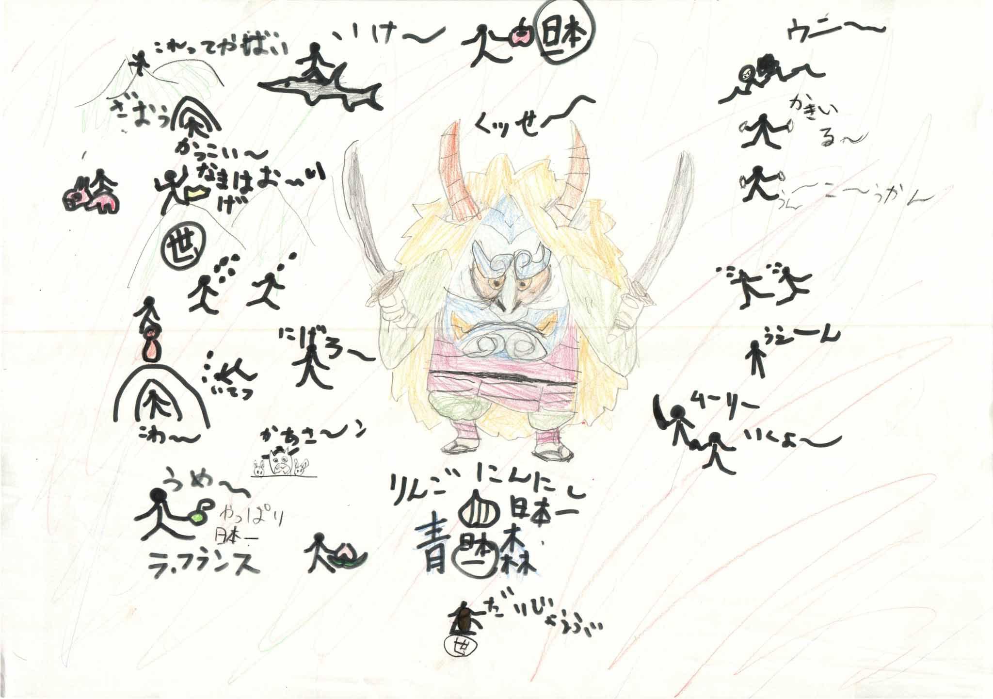 みんなのマインドマップ~東北地方のうた(小学4年生)