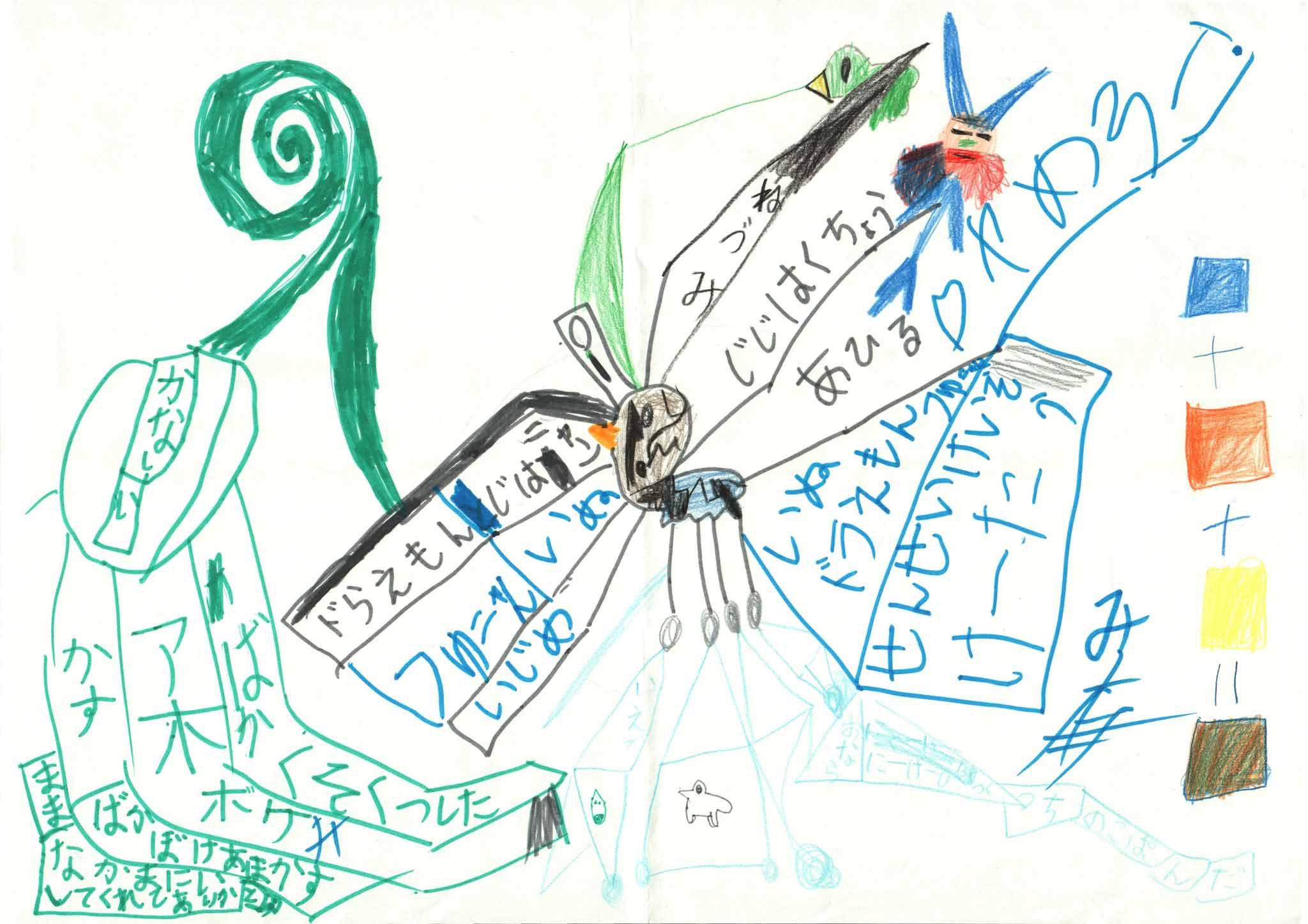 みんなのマインドマップ~みにくいアヒルの子(小学1・3年生)