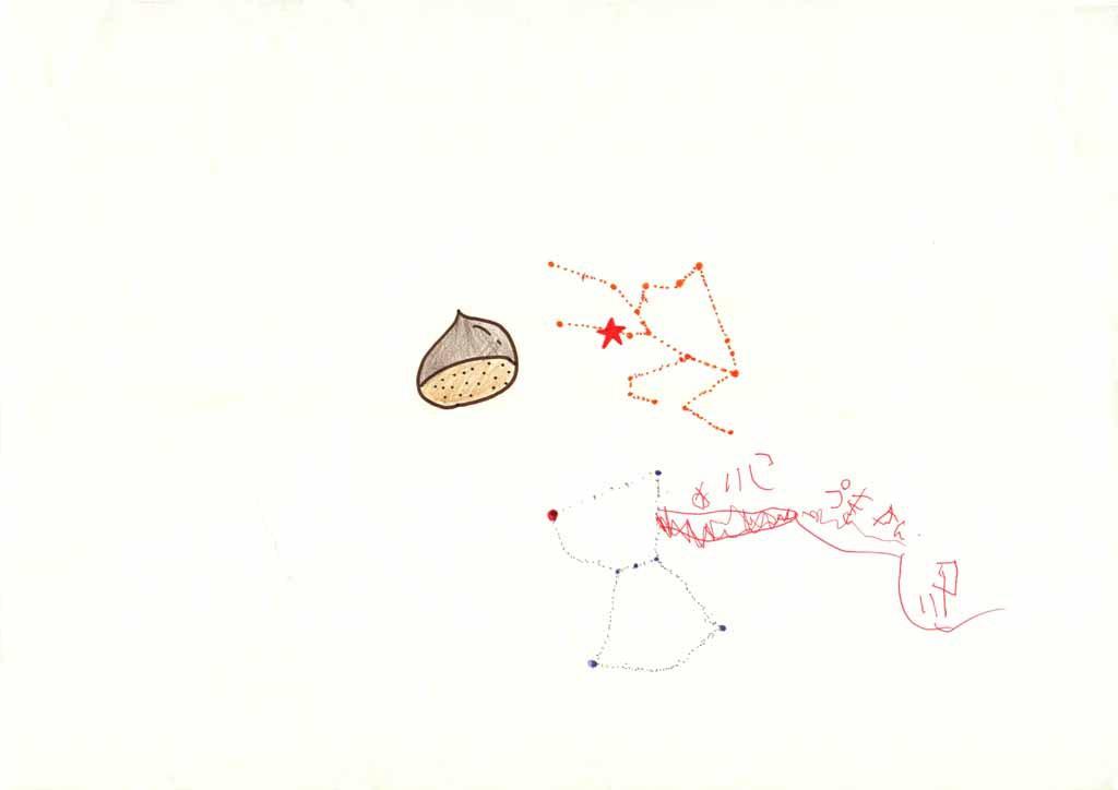 みんなのマインドマップ~星(秋・冬)(年長~小学1年生)