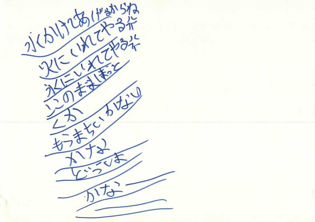 みんなのマインドマップ~すみれ(小学5年生)