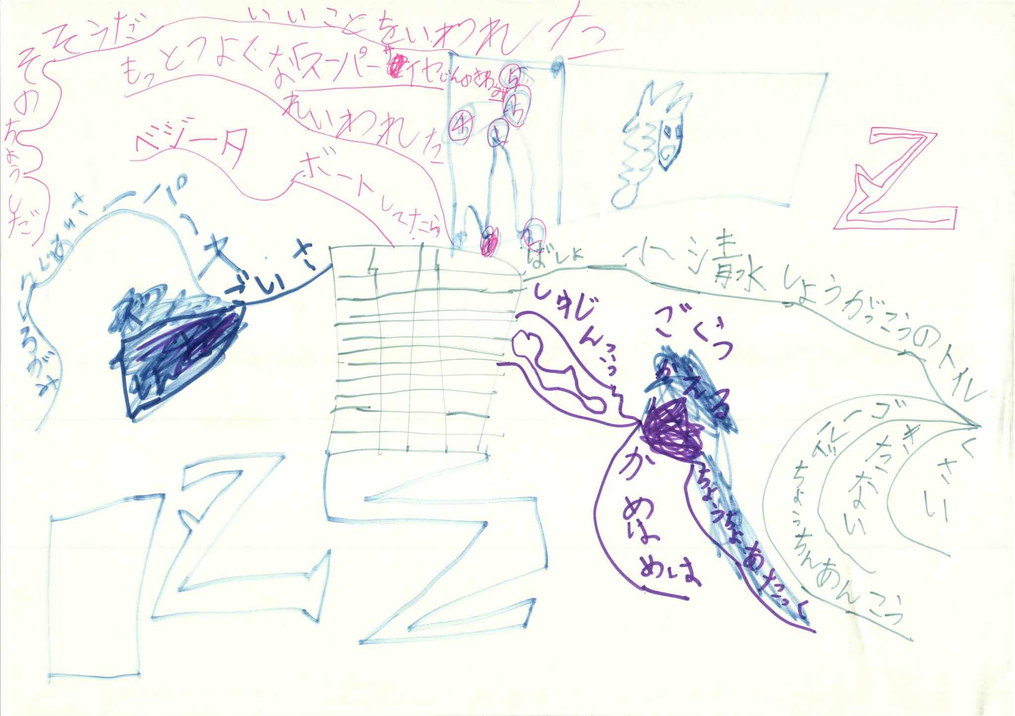 みんなのマインドマップ~やまなし(小学2~4年生)