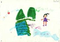 みんなのマインドマップ~川と平野(小学2年生)