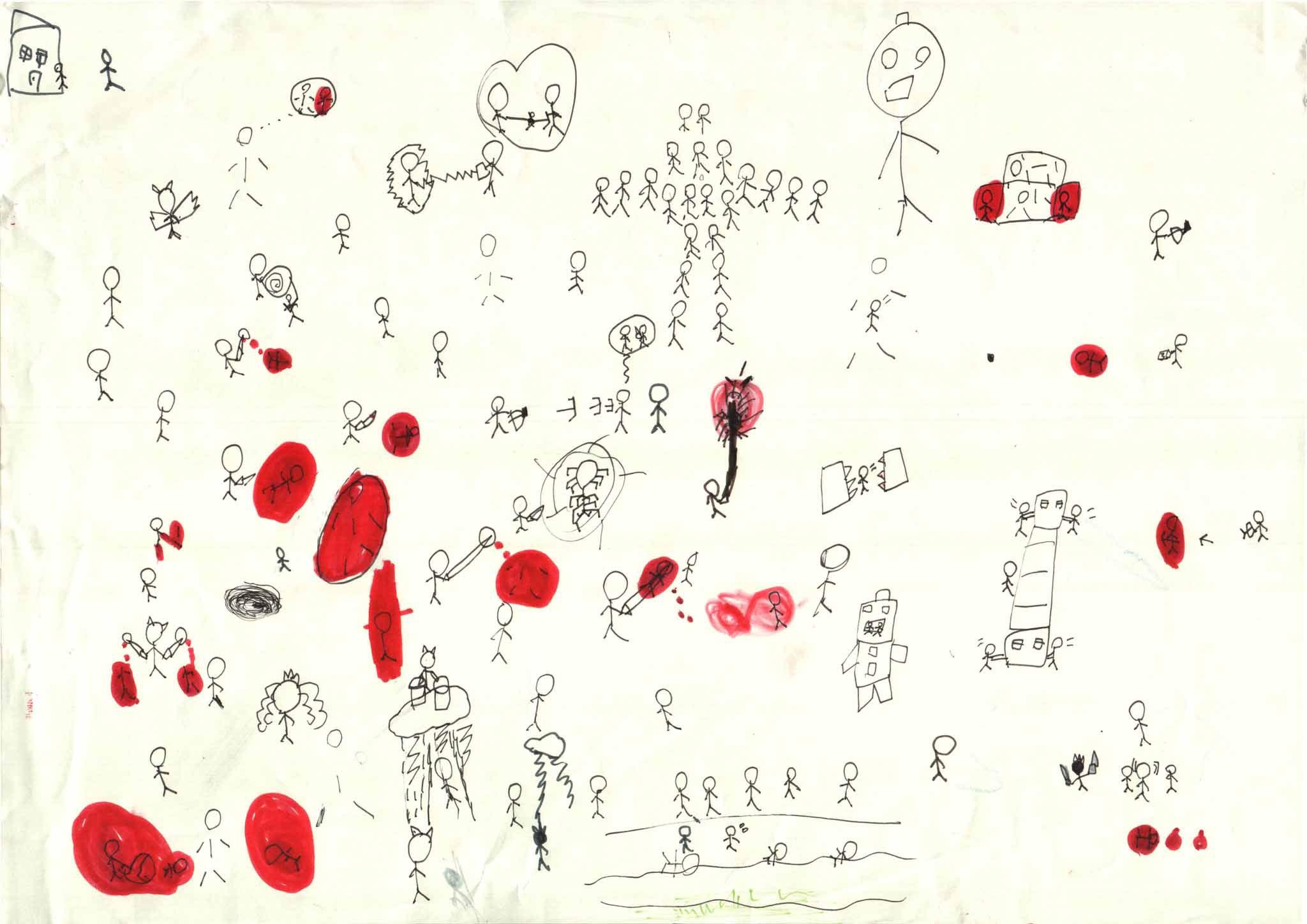 みんなのマインドマップ~平清盛(小学1年生)