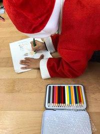 2017クリスマスチャリティーイベント「サンタと一緒にマインドマップを楽しもう♪」を開催しました(^^)/