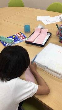 先週の教室より~創作文そして七夕(^^)/