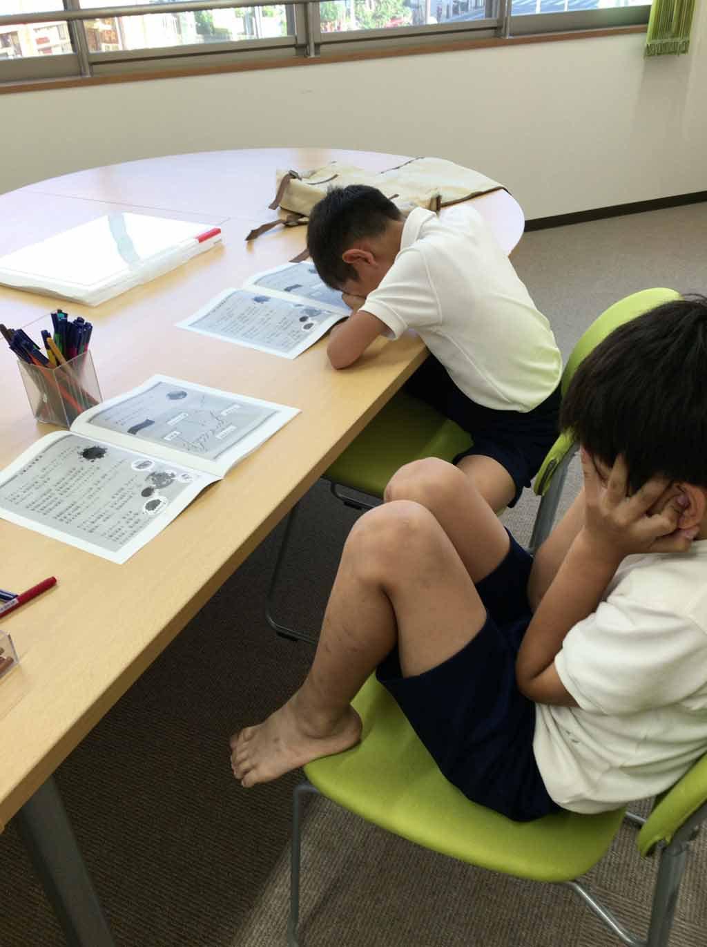 先週の教室より~二酸化炭素を減らそう!