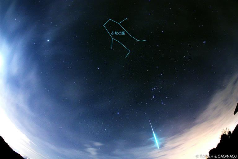 ふたご座流星群~今年は10年に一度の好条件!