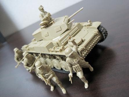 ドイツ アフリカ軍団 Ⅳ号戦車