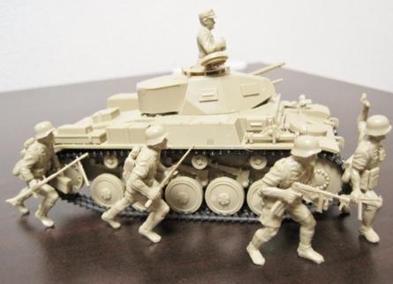 進撃するドイツ軍 アフリカ軍団