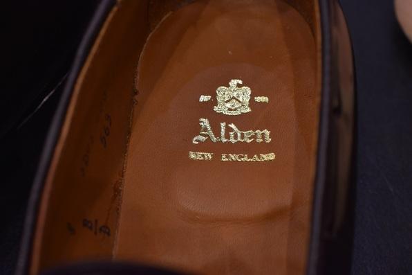 ALDEN(オールデン) つま先 TRIUMPH